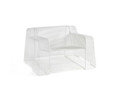 Ivy lounge chair Glossy White