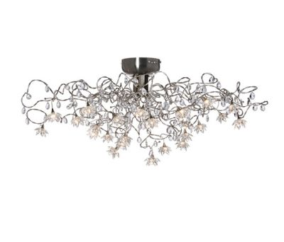 Jewel ceiling light 24-transparent by HARCO LOOR
