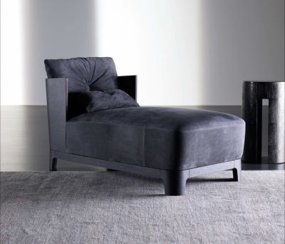 Keeton Chaise longue WOOD by Meridiani