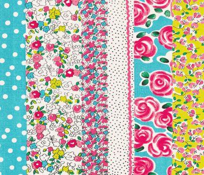 Kids Rugs - Daisy Stripe Peony by Designers Guild