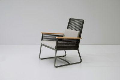 Landscape club armchair teak by KETTAL