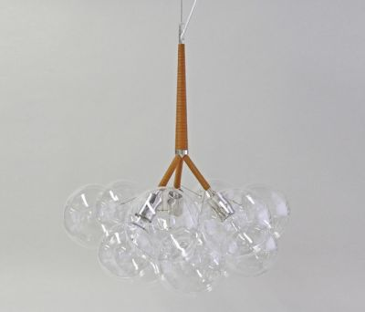 Large Bubble Chandelier by PELLE