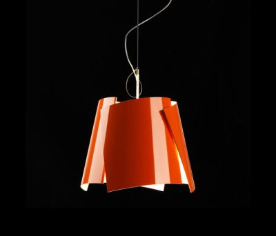 Leaf 42 pendant orange by Bsweden