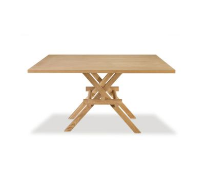 Leonardo Dining Table - Wooden To