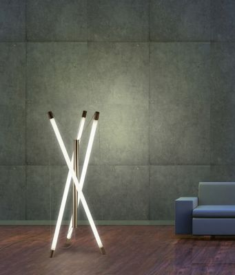 Light Structure T3 floor luminnaire by Archxx