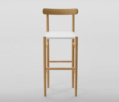 Lightwood Bar Stool High (Mesh Seat) by MARUNI