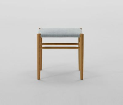 Lightwood Stool Low (Cushioned) by MARUNI