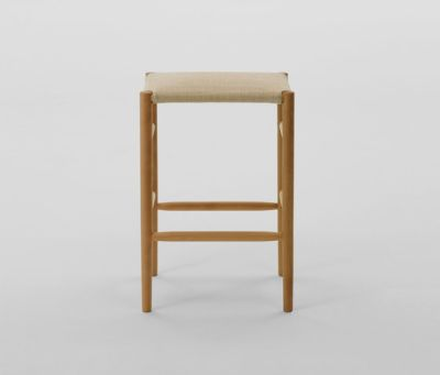 Lightwood Stool Mid (Cushioned) by MARUNI