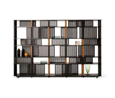 Lloyd bookcase by Poltrona Frau