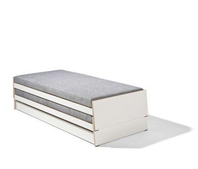 Lönneberga MDF stacking bed by Lampert