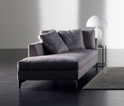 Louis Up Chaise Longue by Meridiani