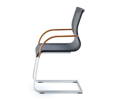 magnum strick-tex cantilever chair by TEAM 7