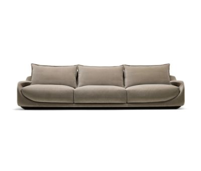 Martini Three-seat Sofa by Giorgetti