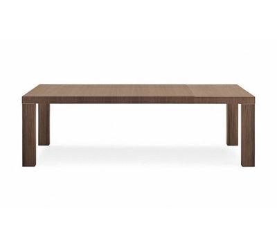 Master due table by Poliform 180/245x86x74cm,c.walnut
