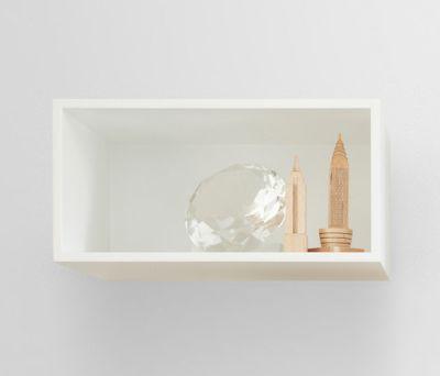 Mini Stacked Shelf Systems | small by Muuto