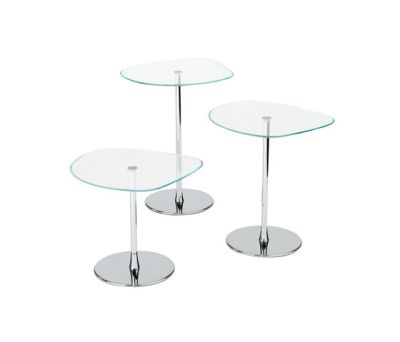 Mixit Glass small table by Desalto