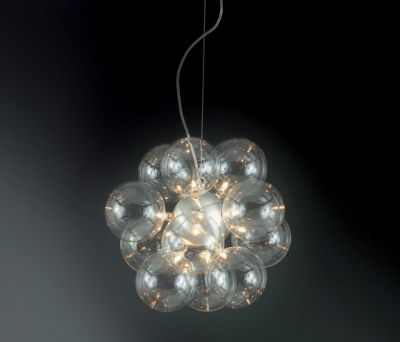 Molecule Diam Pendant light 38 HL 12 by HARCO LOOR