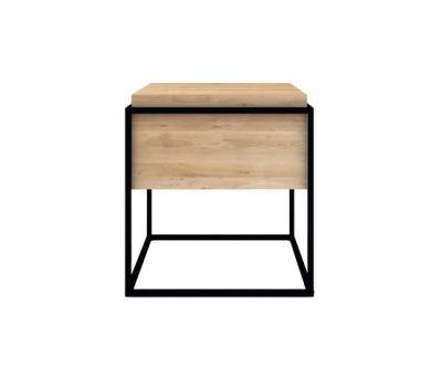 Monolit Side Table Medium Black