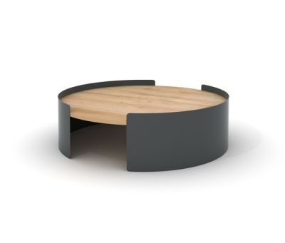 Moon L Coffee Table Dark Grey