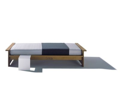 Moonwalker solid wood bed by Lampert