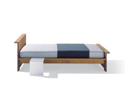 Moonwalker solid wood bed by Lampert