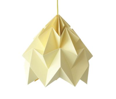 Moth XL Lamp - Canary Yellow by Studio Snowpuppe