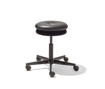 Mr. Round swivel stool by Lampert