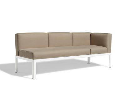 Nak 70 4-seater corner sofa by Bivaq