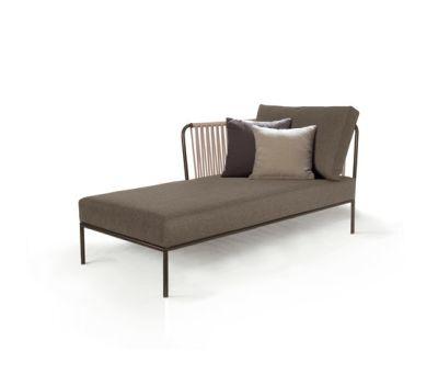 Nido left chaise longue module by Expormim