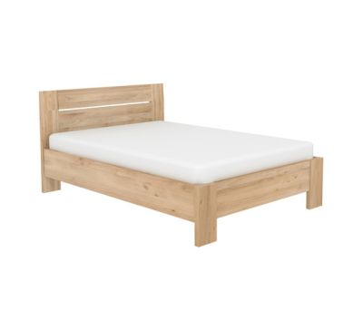 Azur Bed Teak, Mattress size 180-220