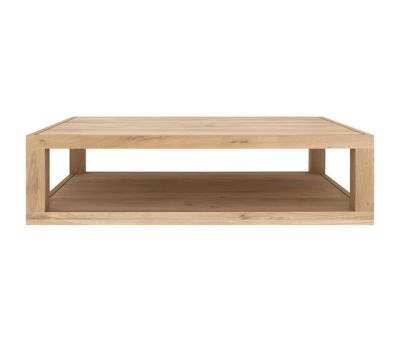 Oak Duplex coffee table 130 x 80 x 37 cm