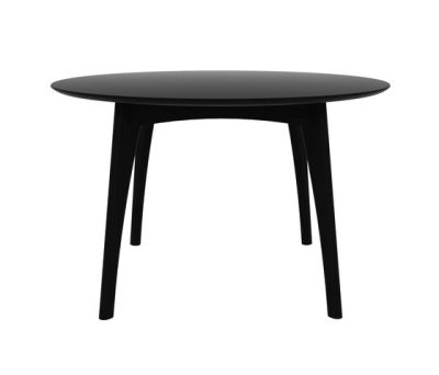 Oak Osso round dining table Blackstone