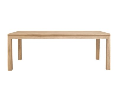Oak Straight dining table 220 x 105 x 78 cm