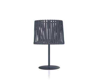 """Oh"" lamp Hand-woven table lamp by Expormim"