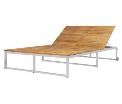 Oko Lounge double sun lounger by Mamagreen