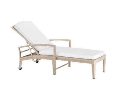 Panama Ecru Beach chair by DEDON