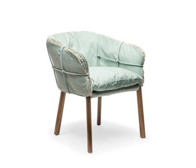 Parchment Armchair by Kenneth Cobonpue