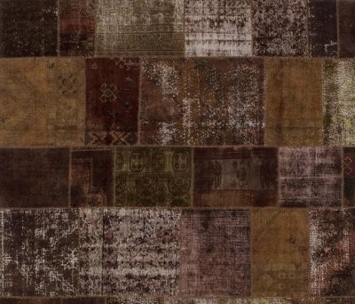 Patchwork brown by GOLRAN 1898