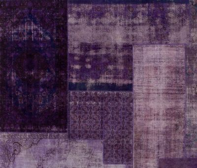 Patchwork Decolorized purple by GOLRAN 1898
