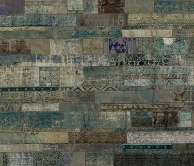 Patchwork Restyled aqua by GOLRAN 1898