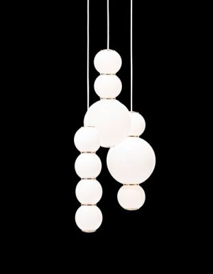 Pearls Chandalier 3 - ABD by Formagenda
