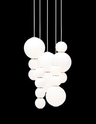 Pearls Chandalier 5 - ABCDE by Formagenda