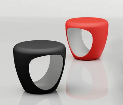 Pebble pouf by Bonaldo