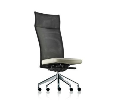 pharao net swivel chair high by fröscher