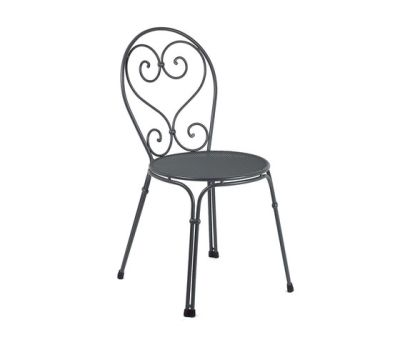 Pigalle chair - set of 4 Antique Iron
