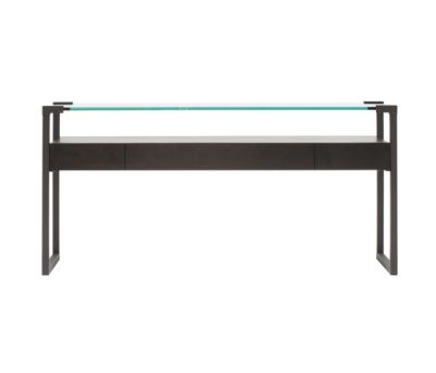 Pioneer T53L Console table with Oak Wood Drawer Ristretto frame