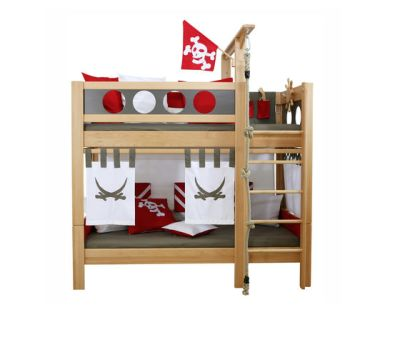 Pirate Bunk Bed DBA-202.9 by De Breuyn