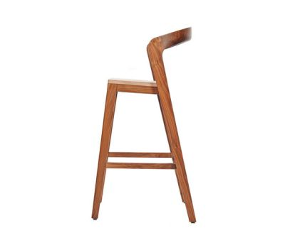 Play Barstool High – Solid American Walnut by Wildspirit