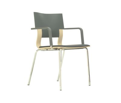 Puro | 4-legged general purpose chair by Züco