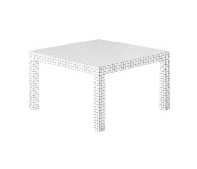 Quaderna | 2600 Square Dining Table 111 x 111